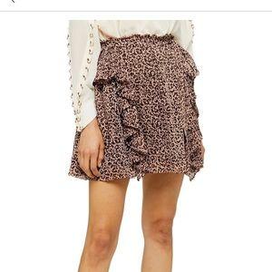 Topshop Leo Ruffle Skirt